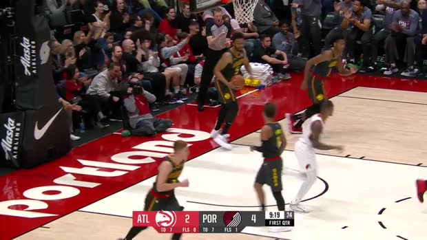 WSC: Damian Lillard with 30 Points vs. Atlanta Hawks