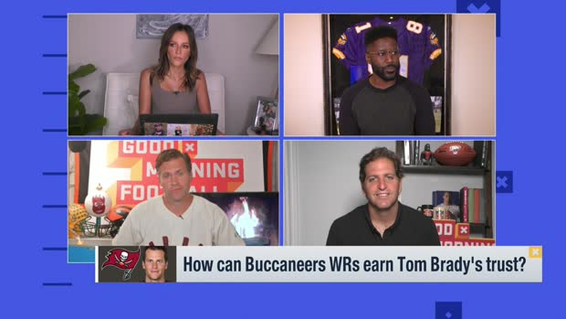 'GMFB': How Bucs WRs can earn Tom Brady's trust 4