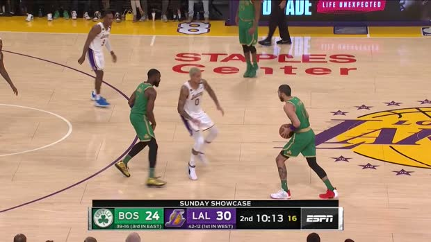 WSC: Jayson Tatum scores 41 points vs. Lakers