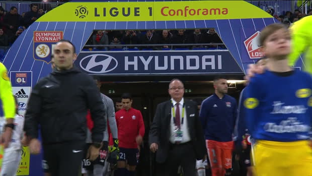 Ligue 1: Lyon - Lille | DAZN Highlights