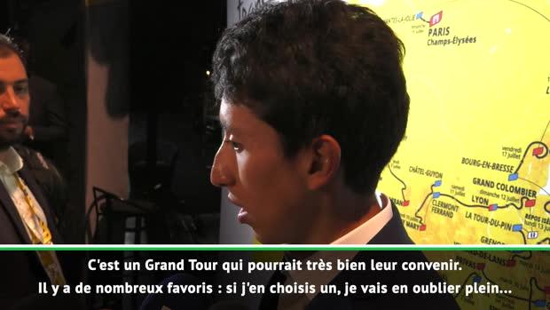TdF 2020 - Bernal - 'Les Français seront parmi les favoris'