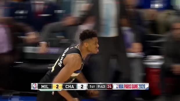 WSC: Giannis Antetokounmpo with 30 Points vs. Charlotte Hornets
