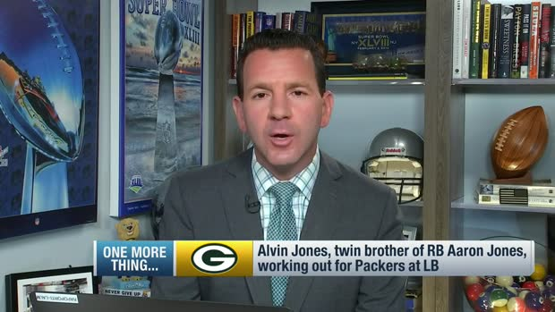 Rapoport: Aaron Jones' brother, Alvin, trying out for Packers
