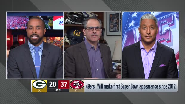 NFL Network's Steve Wyche: San Francisco 49ers' style of play 'made the Packers not want to fight'