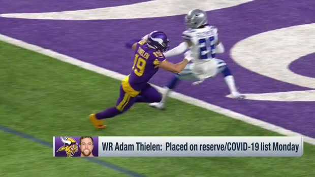 Pelissero: Adam Thielen has had positive and negative COVID-19 tests