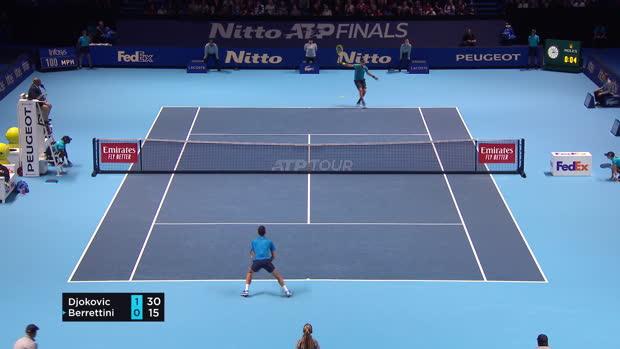 : ATP Masters - Victoire express de Djokovic sur Berrettini