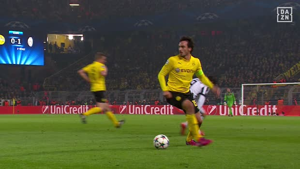 Perfektes Timing! Hummels luchst Morata den Ball ab | DAZN CL Archiv
