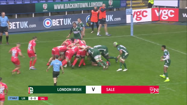 Aviva Premiership : Aviva Premiership - Highlights - London Irish v Sale Sharks - Round 2