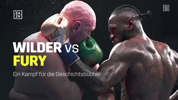 Historischer 1. Teil: So lief Wilder vs. Fury in 2018 | DAZN Boxen