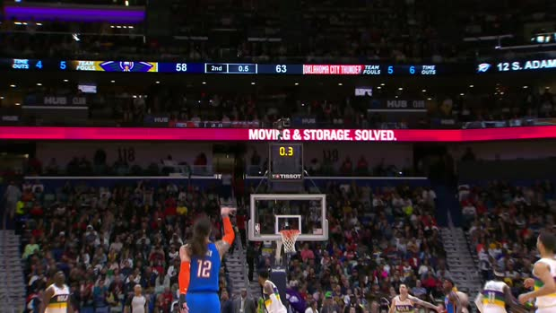 Play of the Day: Steven Adams