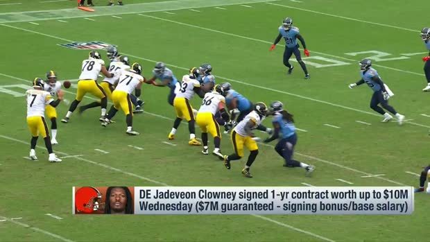 What Jadeveon Clowney will bring to Browns defense 'Around the NFL'