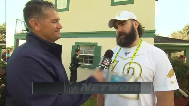 Philadelphia Eagles center Jason Kelce discusses community service during 2020 Pro Bowl Week