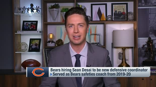 Pelissero: Bears hiring Sean Desai to be defensive coordinator
