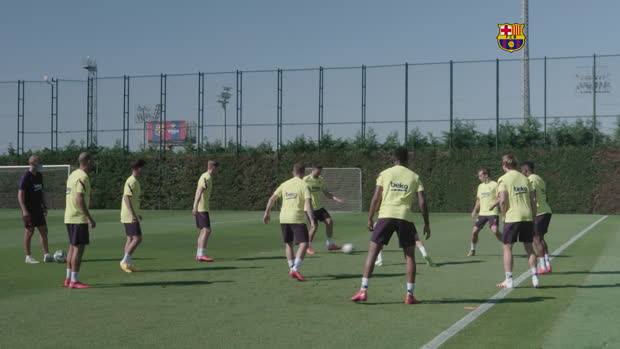 LaLiga-Training: Barca zaubert, Real ackert