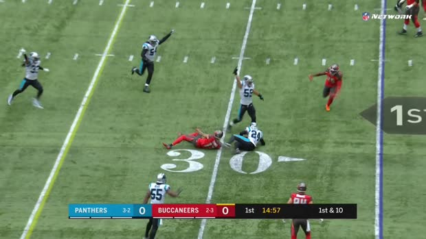 Panthers vs. Buccaneers Highlights Week 6