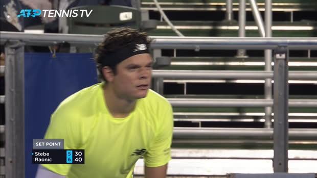 Tennis : Delray Beach - Raonic fil en quart
