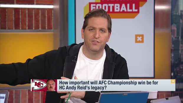 Peter Schrager reveals famous actor who's pulling for Andy Reid to win first Super Bowl