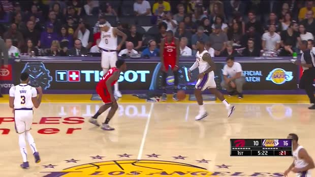 WSC: LeBron James with 15 Assists vs. Toronto Raptors
