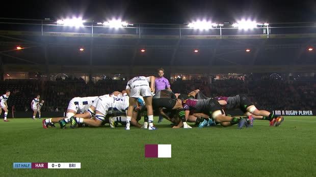 Aviva Premiership : Aviva Premiership - Highlights - Harlequins v Bristol Bear - Premiership Rugby Cup Rnd1