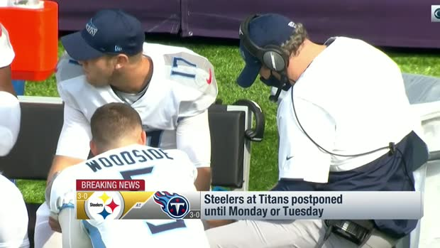 Rapoport, Battista, Garafolo detail Steelers-Titans postponement scenarios