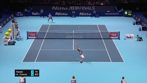 : Masters - Nadal n'a pas fait le poids face à Zverev