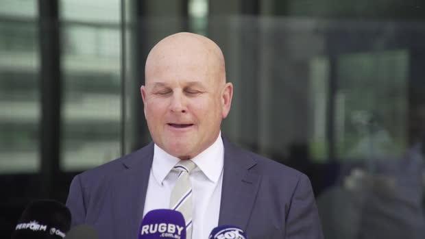Rugby : Rugby Australia - Clarke - ''Le sport a traversé une période très, très difficile''