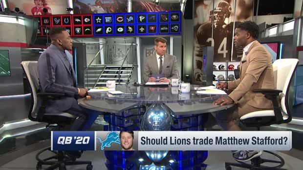 Should the Detroit Lions consider trading quarterback Matthew Stafford?