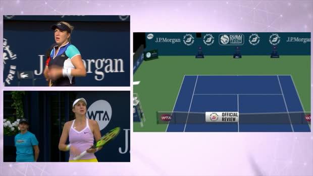 Tennis : Dubaï - Tenante du titre, Bencic à la trappe d'entrée