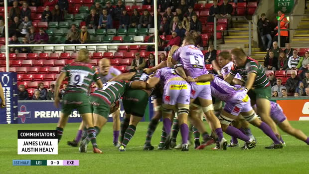 Aviva Premiership : Aviva Premiership - Highlights - Leicester Tigers v Exeter Chiefs - Premiership Rugby Cup Rnd2