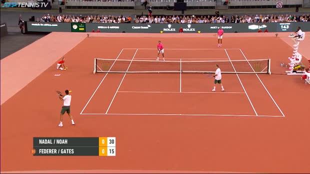 Basket : ATP - Match for Africa - Quand Bill Gates lobe Rafael Nadal