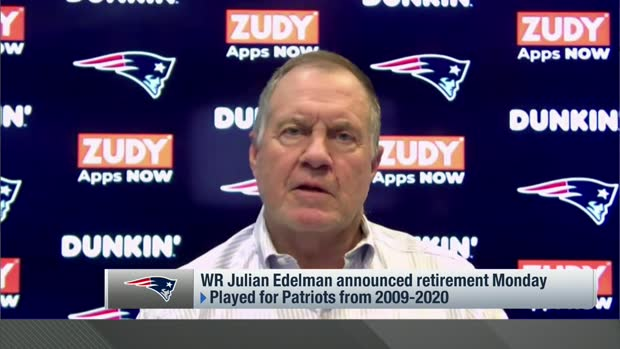 Bill Belichick reflects on Julian Edelman's Patriots legacy