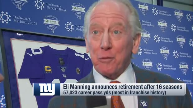 Archie Manning reacts to Eli Manning's retirement decision