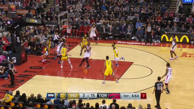 GAME RECAP: Raptors 127, Pacers 81