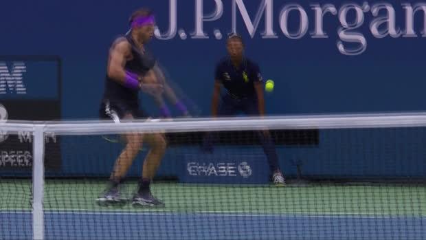 : US Open - Nadal, un sacré coup de génie !