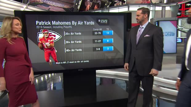 Next Gen Stats: Kansas City Chiefs quarterback Patrick Mahomes' Top 5 air yardage throws of 2019