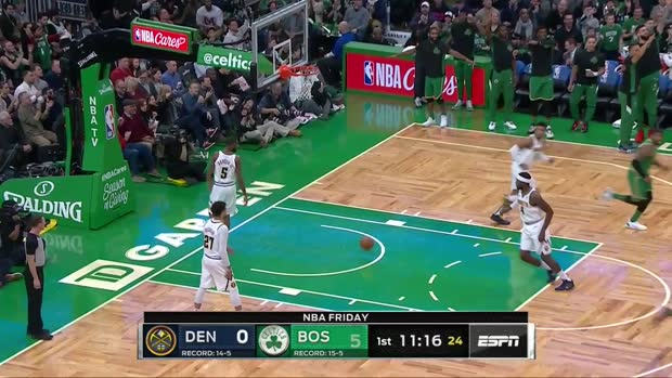 WSC: Daniel Theis (7 points) Highlights vs. Denver Nuggets
