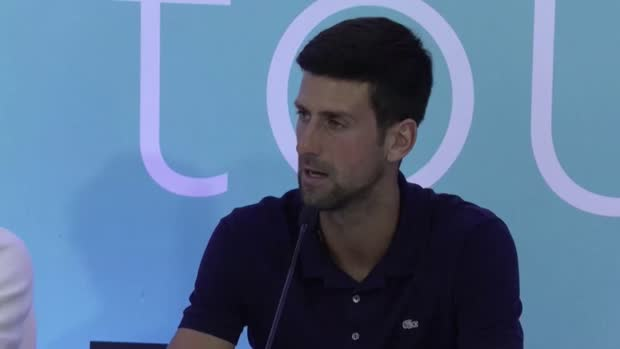 Basket : ATP - Djokovic ne sait pas quand la saison va reprendre