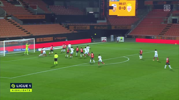 Ligue 1: FC Lorient - AS Monaco | DAZN Highlights