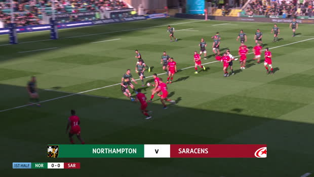 Aviva Premiership - Highlights - Northampton Saints v Saracens - Premiership Rugby Cup Rnd 3
