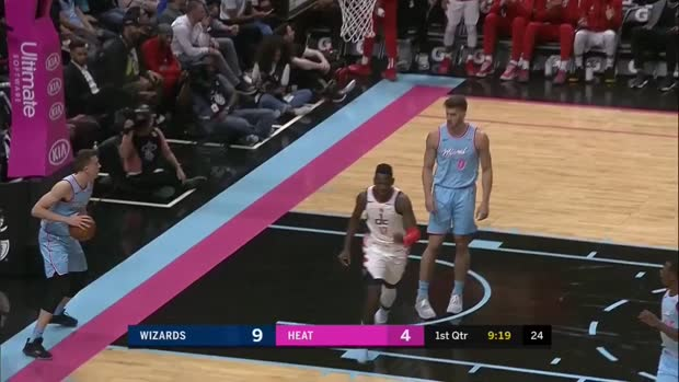 WSC: Isaac Bonga (7 points) Highlights vs. Miami Heat