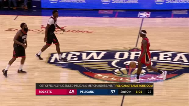 WSC: James Harden with 39 Points vs. New Orleans Pelicans