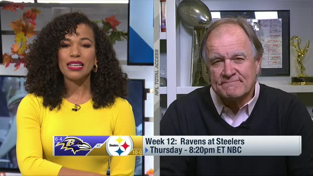 'NFL Playbook': Brian Billick's film preview of Ravens-Steelers in Week 12
