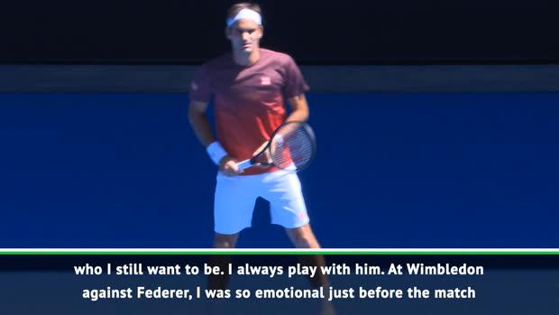 I still want to be like Federer - Nishikori