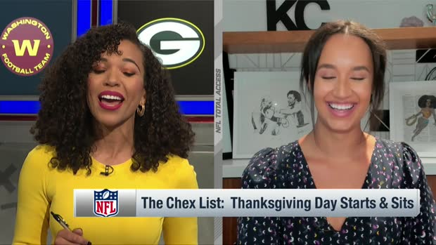 Kimmi Chex: Thanksgiving Day starts and sits in fantasy football