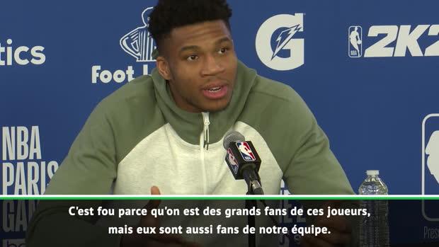 Paris Game - Giannis - 'Voir Neymar et Mbappé dans la salle, c'est dingue'